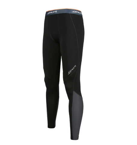 ATHLETE Men's PREMIUM Mid-Weight Running Tights / Pants / Leggings, Style E02 - Athlete Beyond - Men - Bottom - 1