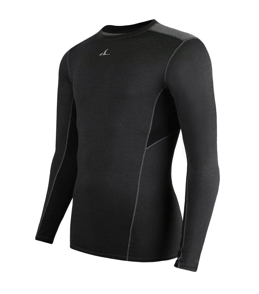 ATHLETE Men's Premium Compression Long Sleeve Base Layer Shirt, Style E08 - Athlete Beyond - Men - Top - 1