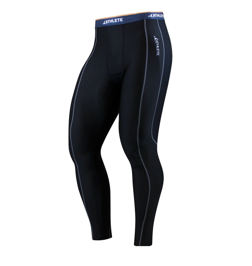ATHLETE Men's PREMIUM Mid-Weight Running Tights / Pants / Leggings, Style E01 - Athlete Beyond - Men - Bottom - 1