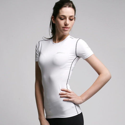 ATHLETE Women's Lightweight Base Layer Short Sleeve Shirts Top, Style W01 - Athlete Beyond - For Her - Top - 1