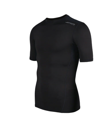 ATHLETE Men's Premium Compression Base Layer Short Sleeve Top, Style E03 - Athlete Beyond - Men - Top - 1
