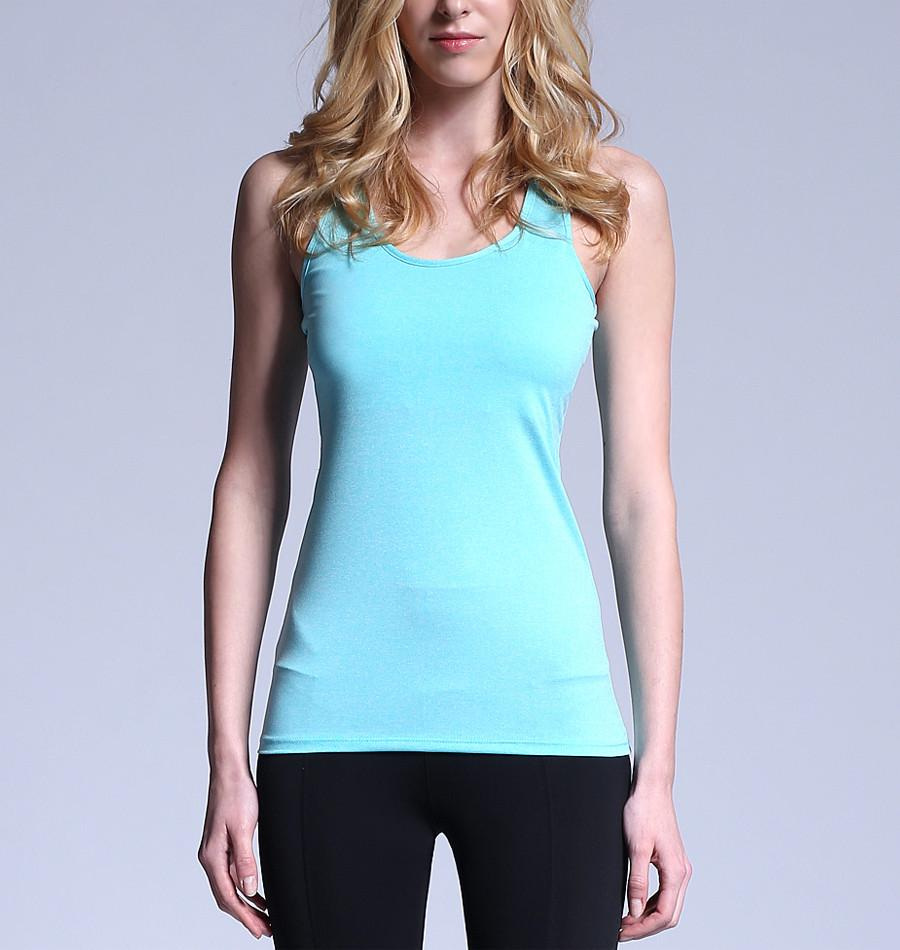 ATHLETE Women's Comfort Tank Top w/ removable pads, Style NS01 - Athlete Beyond - For Her - Top - 1