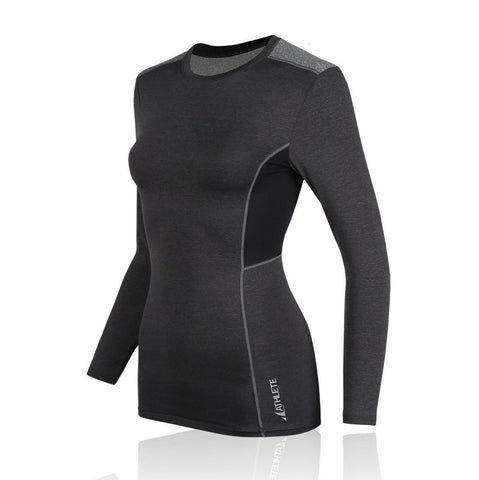 ATHLETE Women's Quick Dry Long Sleeve Rashguard Top, Style NS17 - Athlete Beyond - For Her - Top - 1
