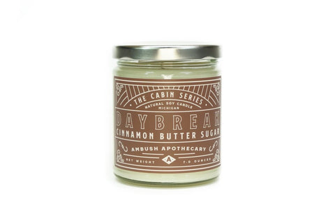 Daybreak Cabin Series 7oz Soy Candle