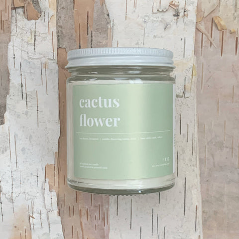 Cactus Flower Candle 9oz
