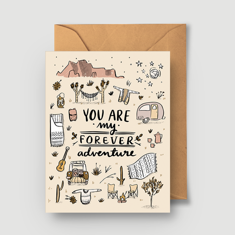 Forever Adventure Card