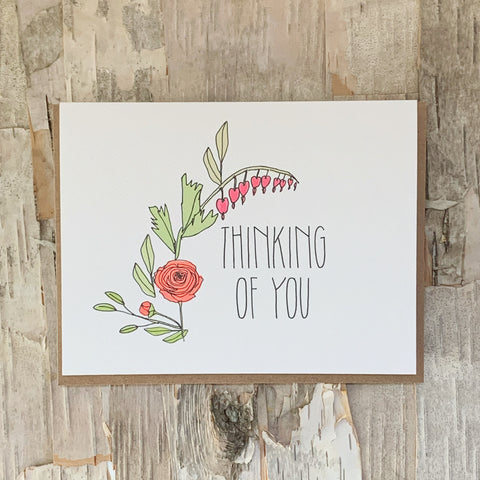 Thinking Of You Card Hartland Brooklyn