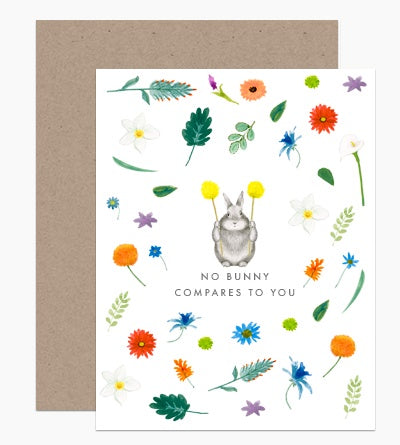 No Bunny Compares To You Card