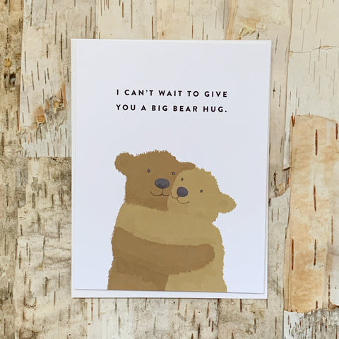 Big Bear Hug Card