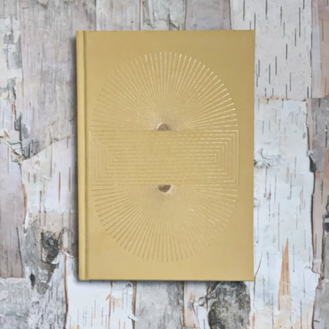 Ochre Radiant Sun Block Notebook
