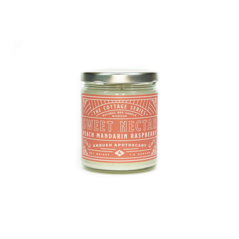 Sweet Nectar Cottage Series 7oz Candle
