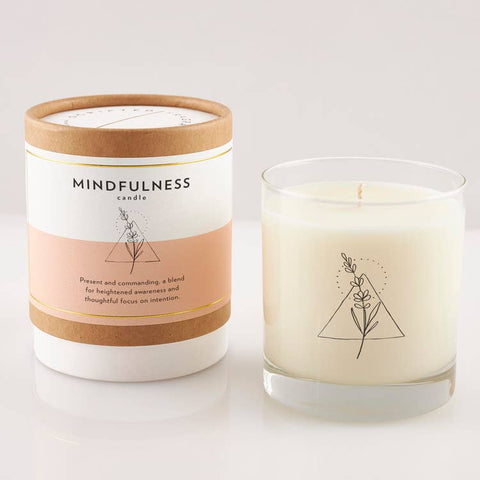 Mindfulness Wellness Meditation Candle 8oz