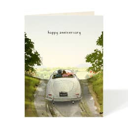 Forever Happy Anniversary Card