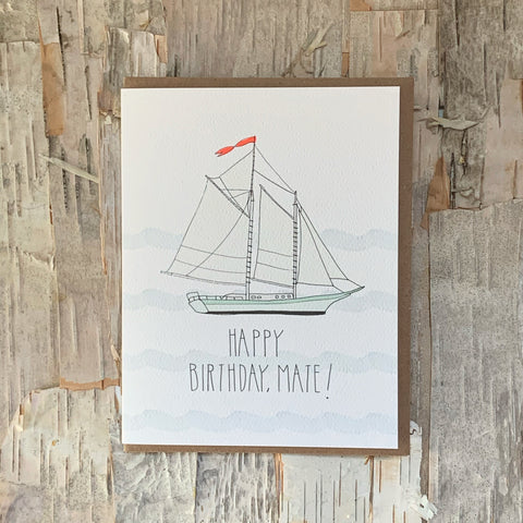 Birthday Mate Card Hartland