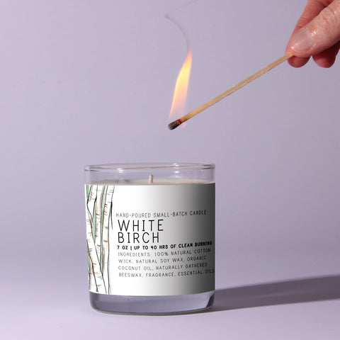White Birch 7oz Candle