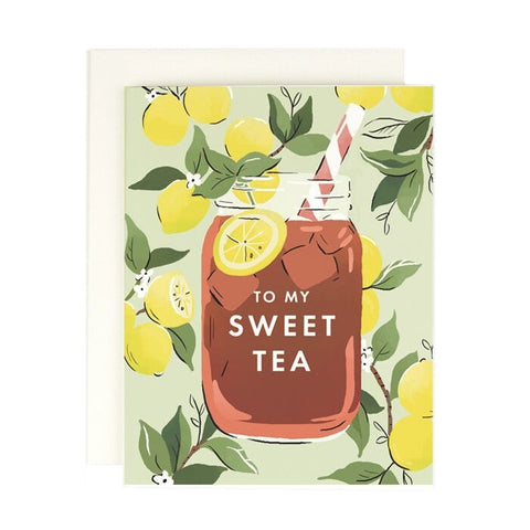 To My Sweet Tea Card