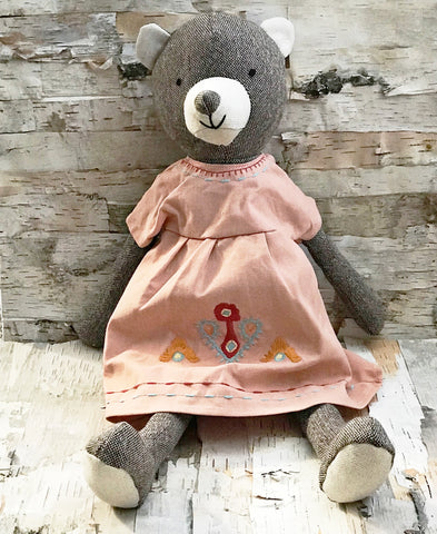 Bear In Dress Doll