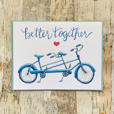 Better Together Bike Card
