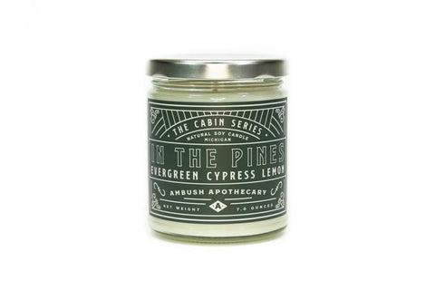 In The Pines Cabin Series 7oz Candle