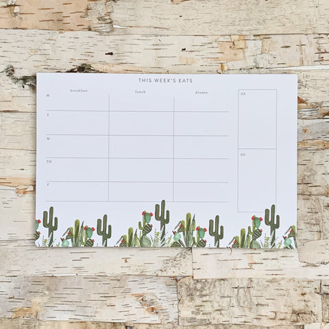 Cactus Meal Planner