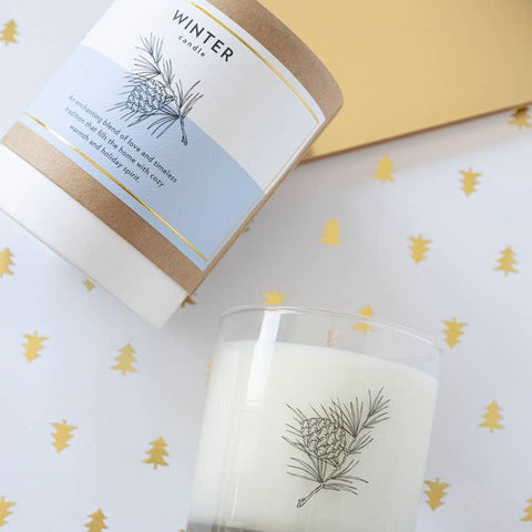 Winter Forest Soy Candle