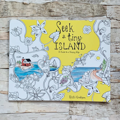Seek A Tiny Island Coloring Book
