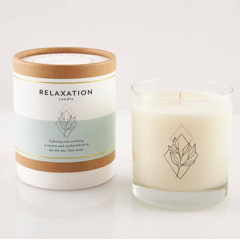 Relaxation Wellness Meditation Soy Candle 8oz