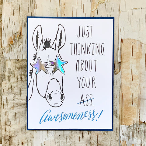 Awesomeness Donkey Card