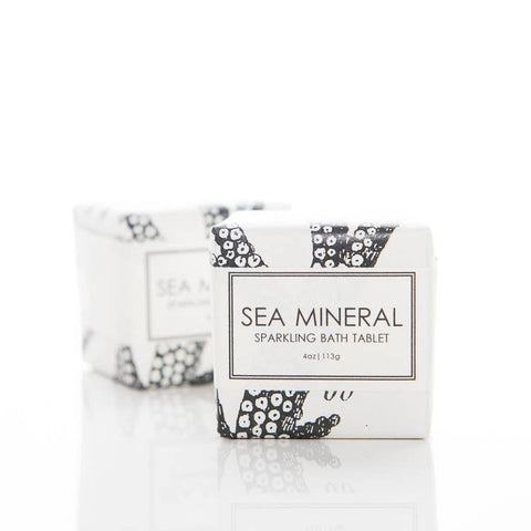 Sparkling Bath Tablet Sea Mineral