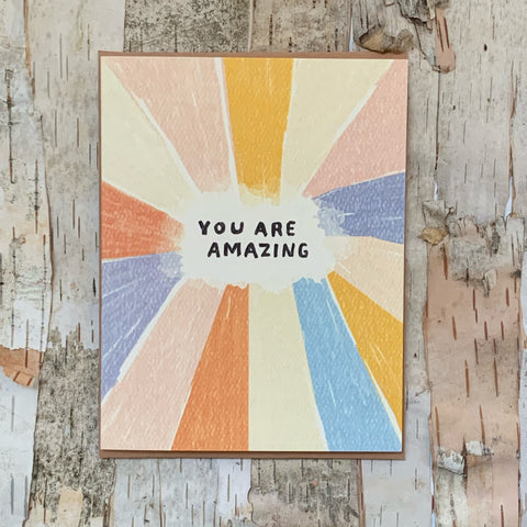 You Are Amazing Daydream Card
