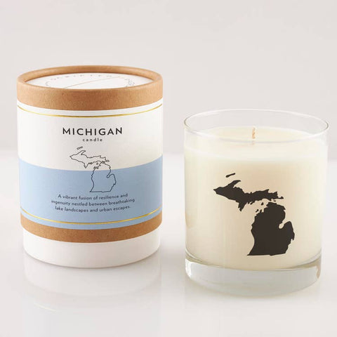 Michigan State Soy Candle 8oz