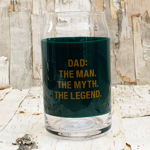 The Legend Beer Can Glass