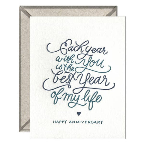 Each Year With You Card