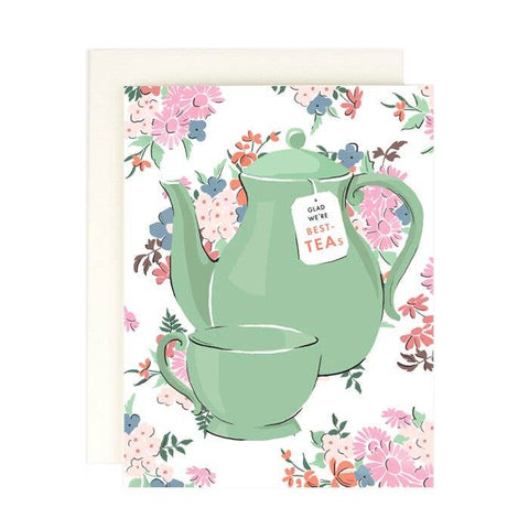 Glad We're Best Teas Card