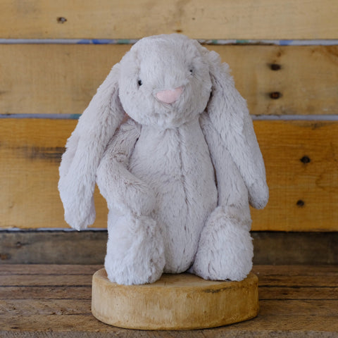 Bashful Oatmeal Bunny Medium Soft Toy