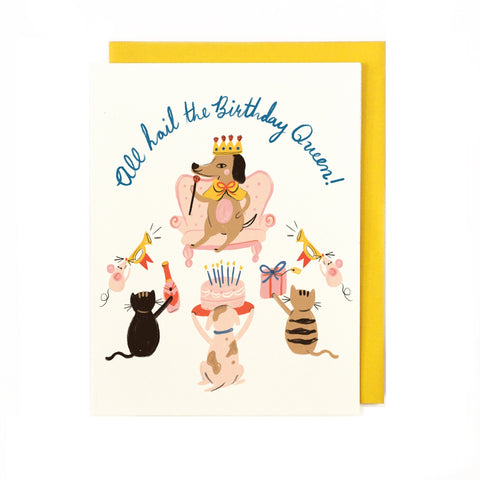 Birthday Queen Card LL