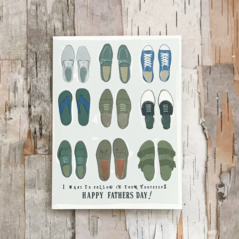 Happy Father's Day Steps Card