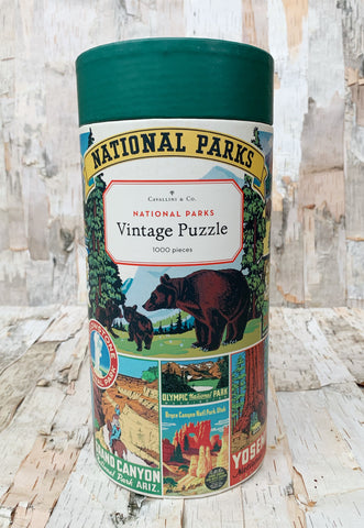 National Parks 1,000 Piece Puzzle