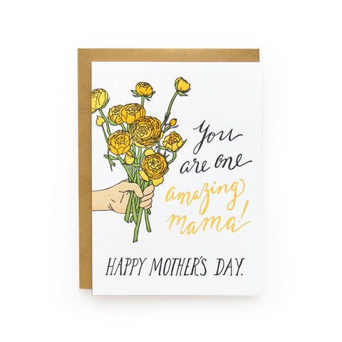 Amazing Mama Mother's Day Card