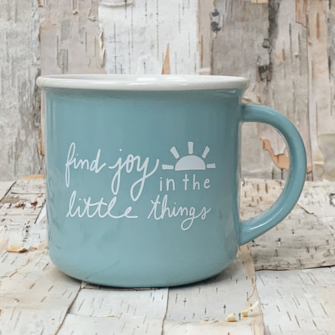 Find Joy In The Little Things Mug