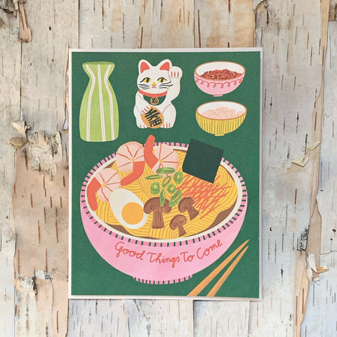 Good Things Ramen Bowl Card