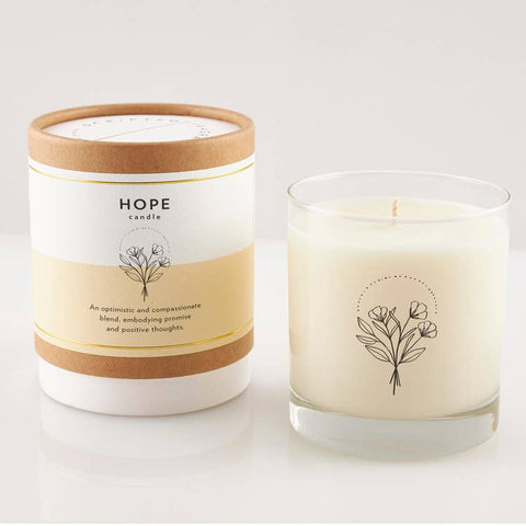 Hope Wellness Meditation Soy Candle 8oz