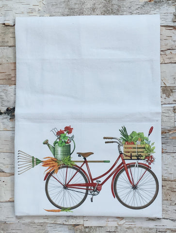 Garden Bike Towel