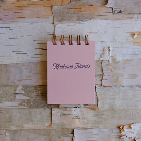 Mackinac Mini Jotter Sunset Pink