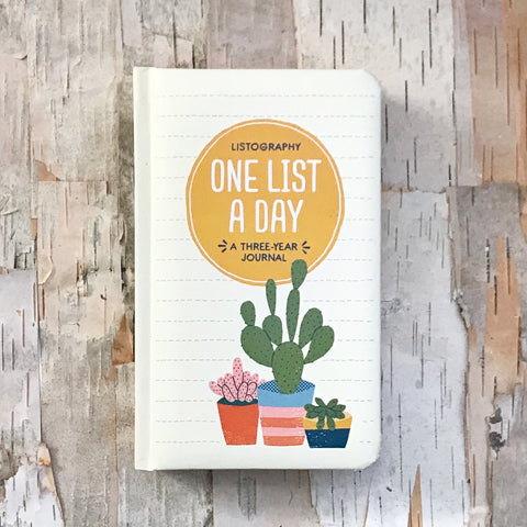 One List A Day Book