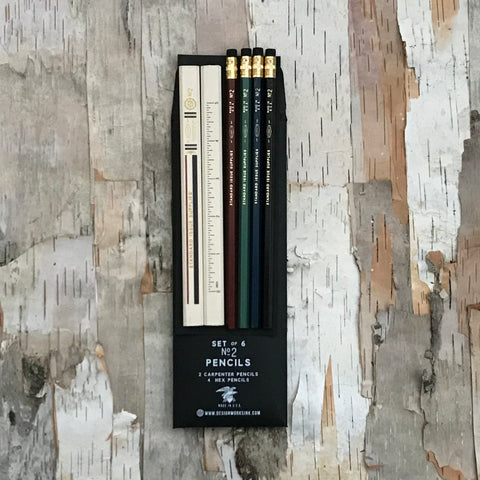 Multi Standard Issue Pencil Set