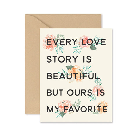 Every Love Story Card
