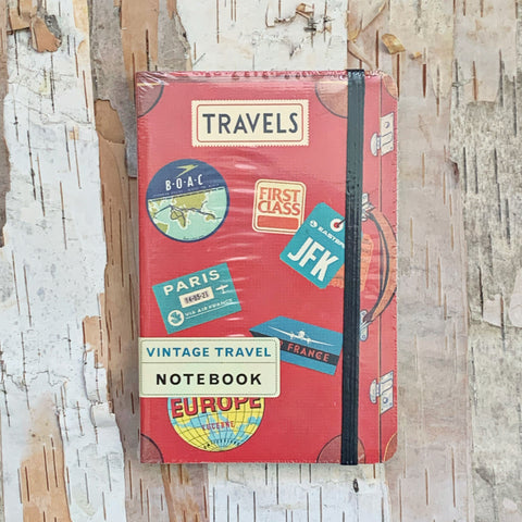 Vintage Travel Small Notebook