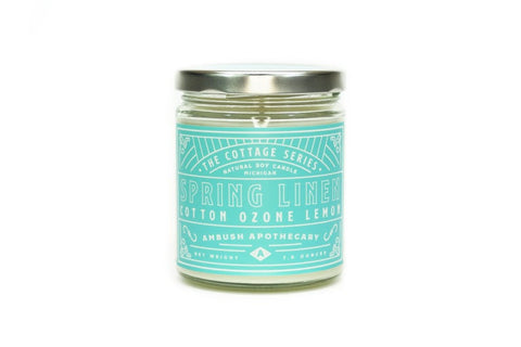 Spring Linen Cottage Series 7oz Candle