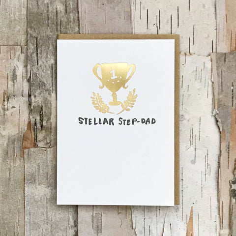 Stellar Step Dad Card